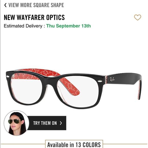 Ray-Ban Accessories | Ray Ban New Wayfarer Optics Prescription ...